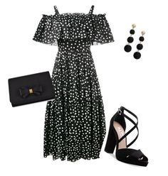 """Untitled #75"" by angelbear38 on Polyvore featuring Dolce&Gabbana, Nina, Ted Baker and R.J. Graziano"