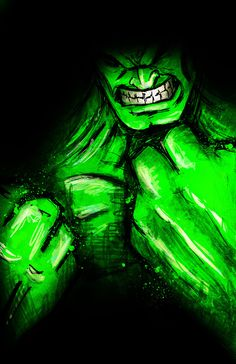 Hulk. MARVEL by Dalys Burnes, via Behance