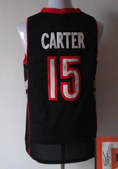 c0658a43d8e Revolution 30 Autographed Raptors #15 Vince Carter Black/Purple Stitched NBA  Jersey Basketball Jersey