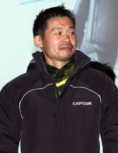 Keiji Inafune (稲船 敬二) or as often credited, INAFKING, illustrator and creator of the Mega Man-character (Rockman in Japan). I played so much Megaman as a kid . and if possible, even more Megaman II-IV. Keiji Inafune, Man Character, Mega Man, Rain Jacket, Windbreaker, Japan, Illustrator, Jackets, Tech