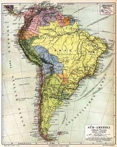 Mapas de América Latina para descubrir la historia de la región a través de la cartografía, testigo del paso del tiempo y los cambios políticos