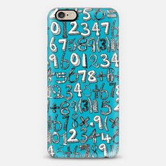 math doodle blue @Casetify #casetify #phone #case #sharonturner #scrummy #numbers #math #mathematics #mathematician #geek #blue #turquoise #typography #ink ~ get $10 off using code: 5A7DC3