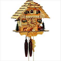 natural wood cuckoo