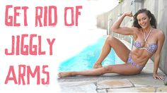 Two of the most common areas women normally complain about are their tummy and thigh area. However, I am also often asked about how to get rid of jiggly arms. Two of the main reasons for jiggly arms are a lack of muscle tone and high body fat. To tone up and get your body fat levels down…