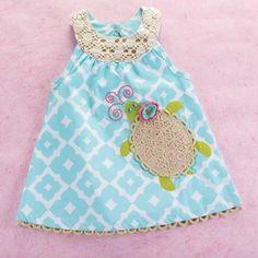 MUDPIE Colorful Vibrant Bright MAXI Dress Chevron Print SIZE 3T