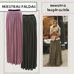 Olivia Palermo nos inspira! Hemos diseñado en Le Bon Suite estas faldas, pensando en realzar esa feminidad que todas llevamos dentro!