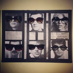for the shades    #home #sunglasses #rack #diy