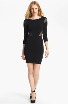 Elizabeth and James Sheer Inset Dress available at #Nordstrom