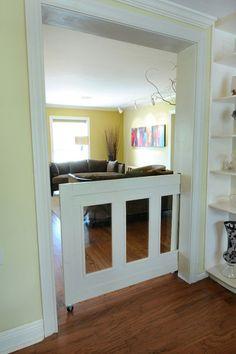 Half Sliding Door (For babies & pets)