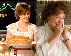 Julie and Julia. Such a great, fun, light, beautiful movie. Follows the story of the ups and downs of two women finding themselves and their callings in life. :)