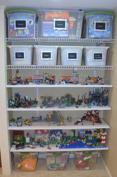 Toys & Legos Organized