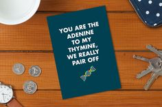 Geeky And Adorable Valentine's Day Cards For A Science Nerd