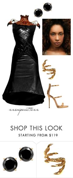 """""""Onyinye - January 29"""" by xxsniperettexx ❤ liked on Polyvore featuring Alexander McQueen, Tessa Metcalfe and Giuseppe Zanotti"""