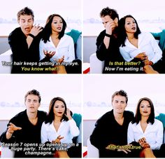 tvd - paul wesley and kat graham