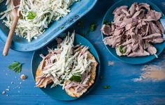 An easy side, this crisp celeriac coleslaw recipe makes a refreshing side to any number of meat, fish or vegetable main courses. Using a mixture of celeriac, kohlrabi and apple, Ollie Moore keeps things fresh with a light lemon and herb dressing recipe. Leftover Turkey Recipes, Leftovers Recipes, Herb Dressing Recipe, Lunch Catering, Great British Chefs, Tesco Real Food, Italian Chef, Celeriac