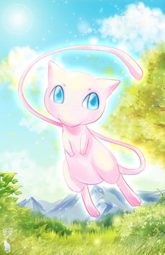 Mew was always so cute :)