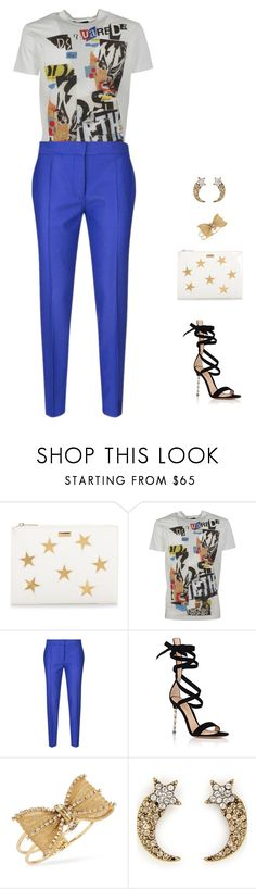 """""""glam rock"""" by candynena228 ❤ liked on Polyvore featuring STELLA McCARTNEY, Dsquared2, Gianvito Rossi, Betsey Johnson and Marc Jacobs"""