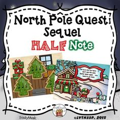 If you are looking for a fun review game to reinforce ta/ti-ti, quarter rest and half note or just want (or need) a fun, quick, no-prep Christmas themed activity this resource will be immensely popular with your young students! It comes with two game versions (16 total rhythms) in PDF form for your students to listen to and identify as they help Santa find the bag of toys he lost.