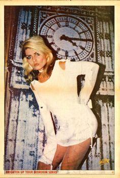 Debbie Harry poster.