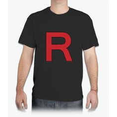 Pokemon - Team Rocket Logo - Mens T-Shirt