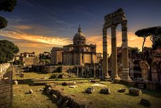 #Rome: The Imperial Forums | Italy Galore: http://www.italygalore.com/rome-the-imperial-forums/