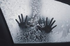 hands and snow image