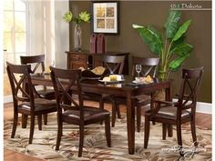 Lacquercraft Dining Room Dakota Dining 151KD at Woodstock Furniture at Woodstock Furniture in Acworth and Hiram Georgia