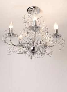 Mandalay Flush Ceiling Light