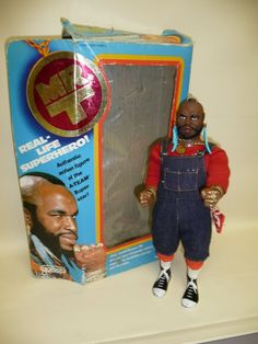 Mr. T Action Figure by Galoob 1983. He was the best from The A Team NEED.
