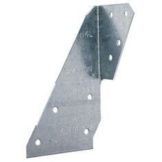 Simpson Strong-Tie - Saddle Rafter Tie Galvanized Steel - It is a wind and seismic tie for trusses and rafters. It is designed to help resist uplift forces and has double shear staggered nailing for lateral resistance. Hurricane Ties, Galvanized Steel, Gauges, Strong, Wood, Exterior, Models, Connection, Plate