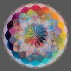 i like this mandala. Sacred Geometry Art, Sacred Art, Geometry Tattoo, Sacred Geometry Patterns, Drawn Art, Photo D Art, Art Abstrait, Flower Of Life, Mandala Art
