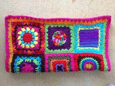 crochet square fat bag, crochetbug, crochet squares, crochet purse, crochet tote, crocheted, crocheting