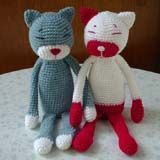 Chat au crochet (tuto)