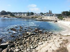 Lover's Point looking toward Pacific Grove, CA