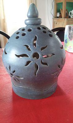 Luminaria cerámica