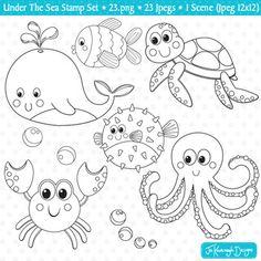 Deniz Altı Canlıları Boyama Ile Ilgili Görsel Sonucu Masaüstü