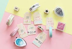 Little Hannah: Un packaging con etiquetas de madera