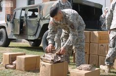 Each #MRE provides an average of 1,250 calories with 13 percent protein, 36 percent fat, and 51 percent carbohydrates.
