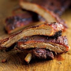Memphis-Style Ribs - GREAT dry-rub recipe for use on meats and poultry. Mix rub spices together and keep in a small plastic container for future use. Keeper.