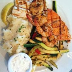 Fog Harbor Fish House Mixed Grill