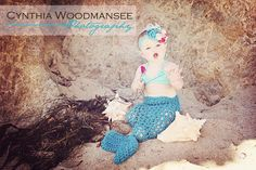 Whimsical Mermaid Tail Photography Prop