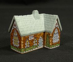 Vintage Wade Figurines | ... Wade Porcelain Whimsey on Why School Building Miniature Figurine
