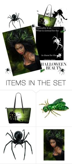 """""""I don't know why she swallowed the Fly!"""" by babygirltrice ❤ liked on Polyvore featuring art"""