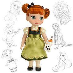 Disney Animators' Collection Anna Doll - Frozen - 16''   Disney Store…