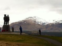 Commando memorial, near Spean Bridge