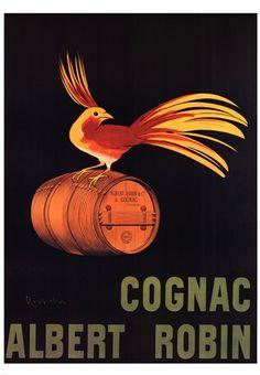 Leonetto Cappiello - Cognac Albert Robin - art prints and posters