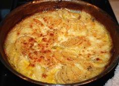 This potatoes au gratin recipe is classically elegant!