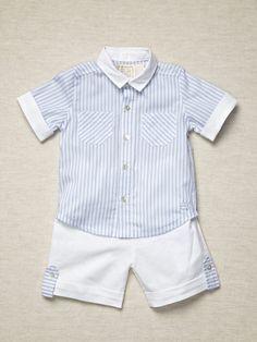 Boys Shirt & Short Set by Emile et Rose on Gilt