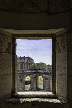 le château de Vincennes. Ile-de-France