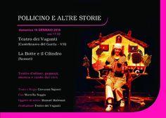 Domenica 10 Gennaio   Pollicino  Teatro Comunale Porto San Giorgio ore 17.00